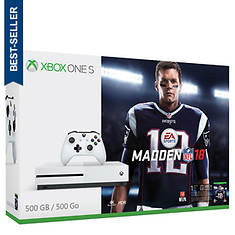 Xbox One S 500GB with Madden NFL 18