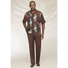 Stacy Adams Men's Diamond Knit Set