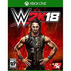 XBox One WWE 2K18