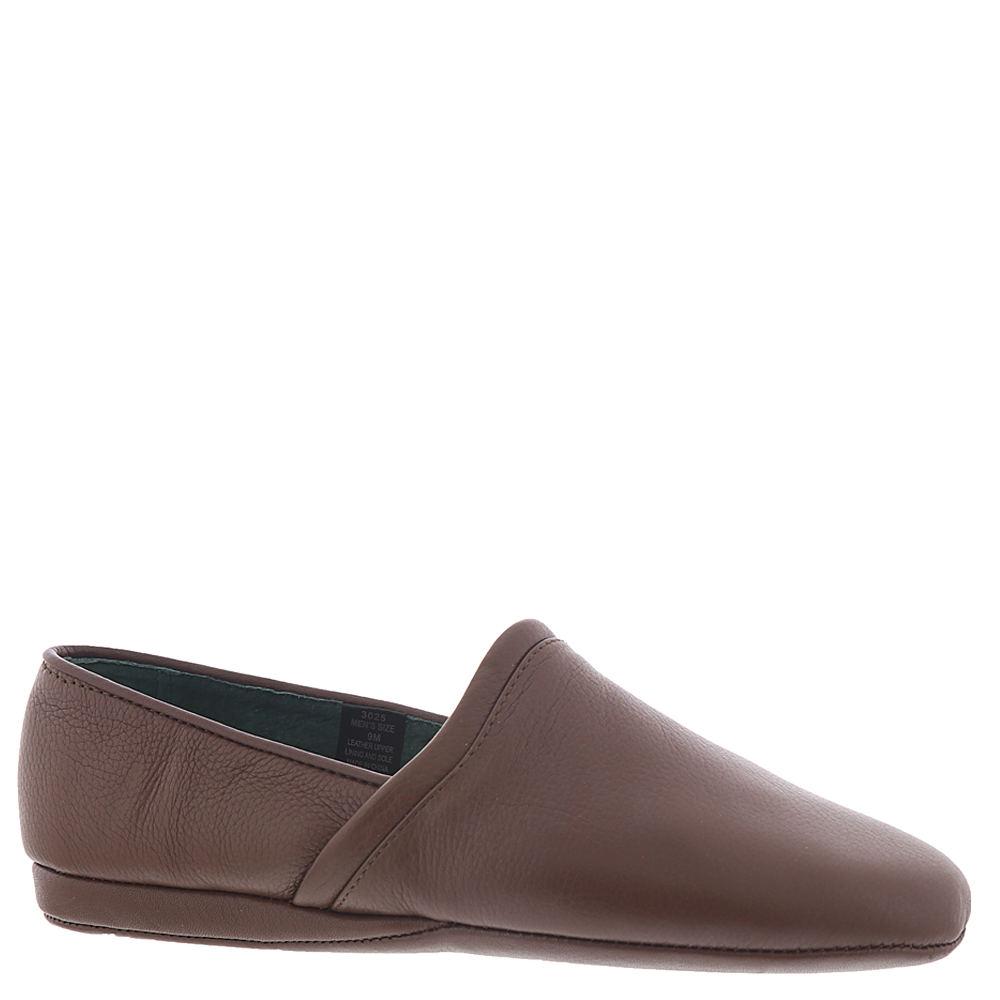 Men's 1950s Shoes Styles- Classics to Saddles to Rockabilly LB Evans Aristocrat Opera Mens Brown Slipper 8 M $74.95 AT vintagedancer.com