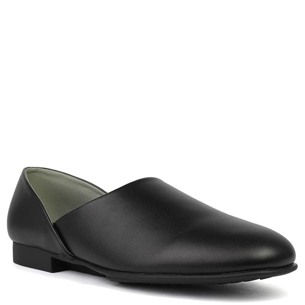 Easy 1940s Men's Fashion Guide LB Evans Radio Tyme Mens Black Slipper 9 E3 $64.95 AT vintagedancer.com