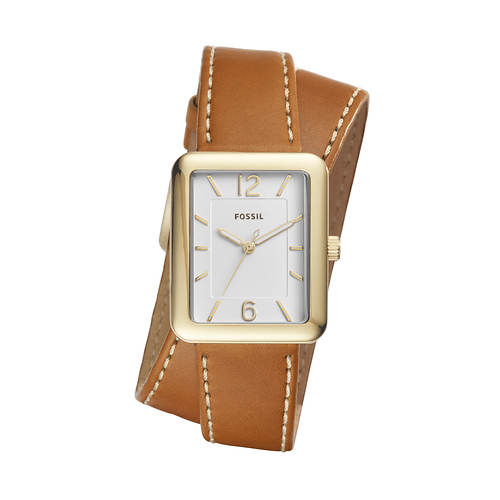 Fossil Atwater Rectangle Stainless Watch