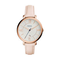Fossil Jacqueline Leather Strap Watch