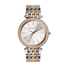 Michael Kors Darci Tri-Tone Crystal Watch