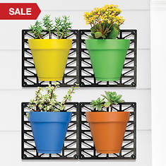 Wall Mount Planter Set