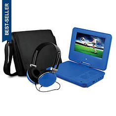 Portable DVD Player with Headphones