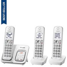 Panasonic Base + 2 Handsets Cordless Answering System