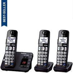 Panasonic Base Unit + 2 Handsets Cordless Answering System