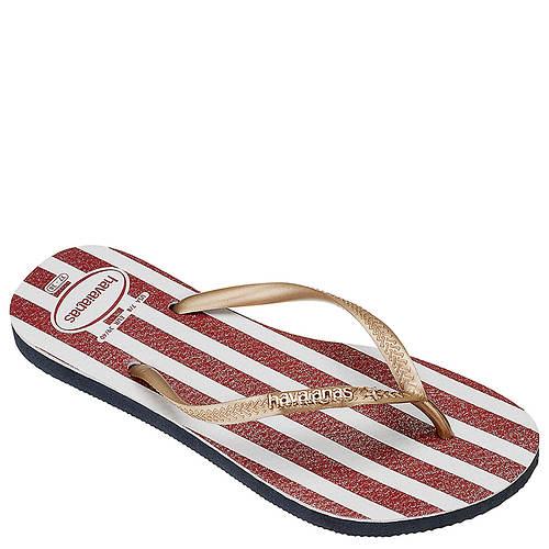 Havaianas Slim USA Glitter Sandal (Women's)