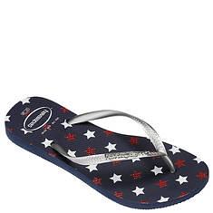 Havaianas Slim Stars Glitter Sandal (Women's)