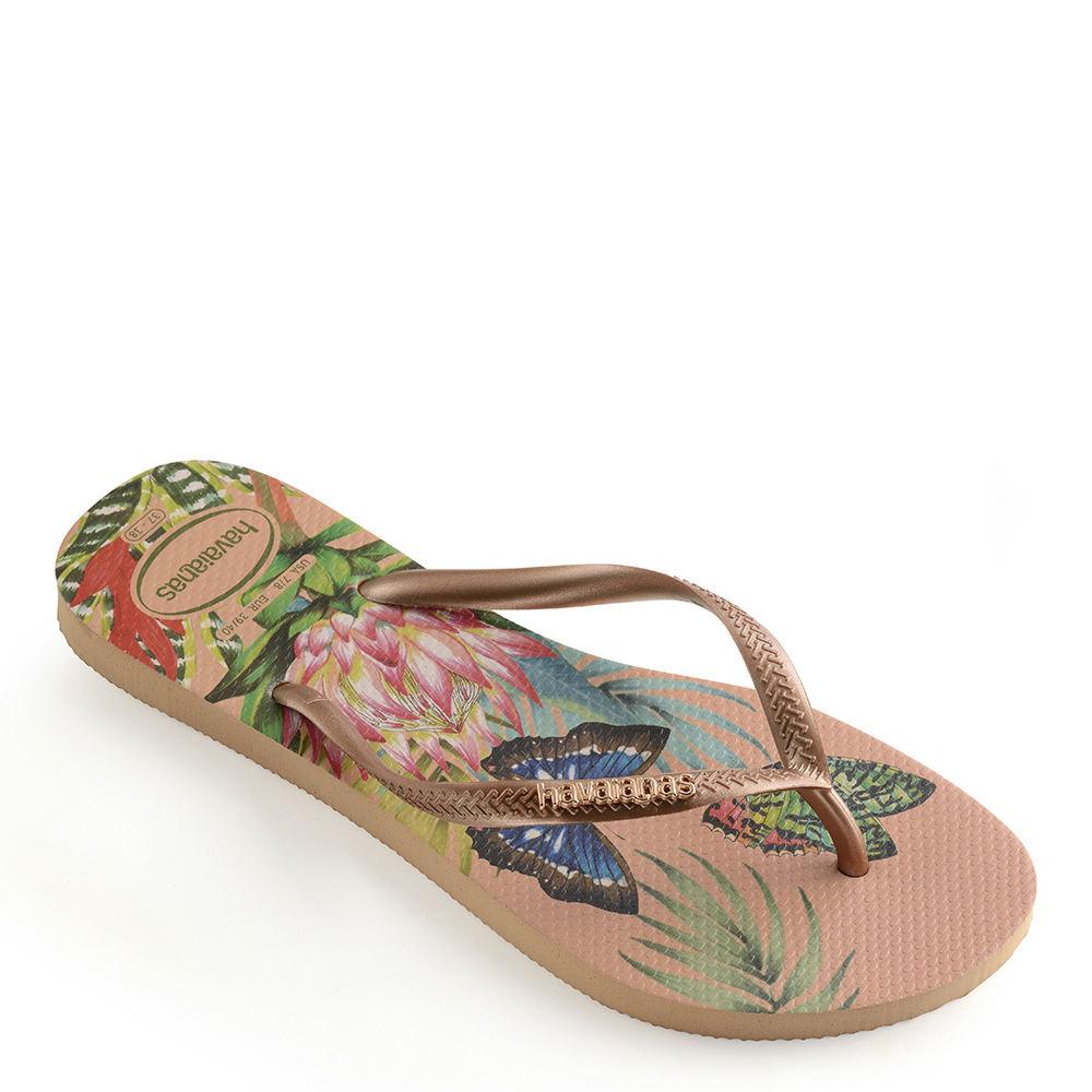 40c76eb0d Details about Havaianas Slim Tropical Sandal Women s Sandal