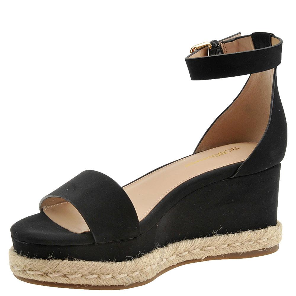 3a258ff9d0b BCBGeneration Addie Espadrilles Wedge Sandals Black 7.5 US   37.5 EU ...
