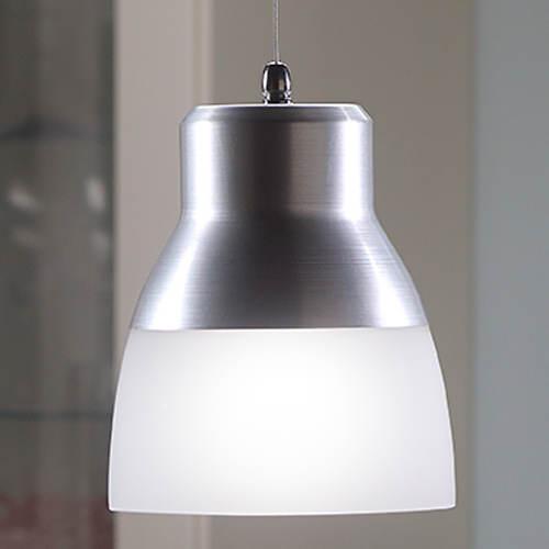 Smart Living Battery-Powered LED Glass Pendant Light