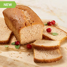 Cocktail Loaf Cake-Cranberry Mimosa