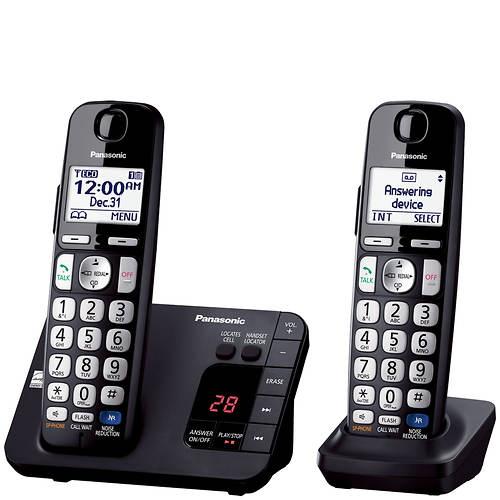Panasonic Base Unit + 1 Handset Cordless Answering System