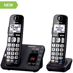 Panasonic Base Unit + 1 Handset Cordless Answering System