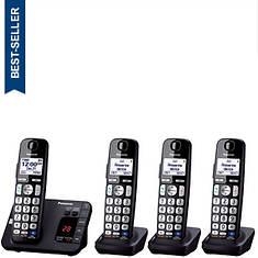 Panasonic Base Unit + 3 Handsets Cordless Answering System
