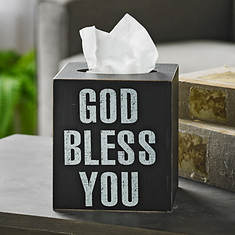 God Bless You Tissue Box-Boutique