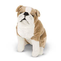 Melissa & Doug English Bulldog Giant Stuffed Animal