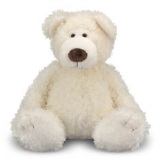 Melissa & Doug Big Roscoe Vanilla Teddy Bear Stuffed Animal