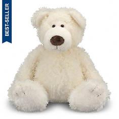 Melissa & Doug Big Roscoe Vanilla Teddy Bear Stuffed Animal