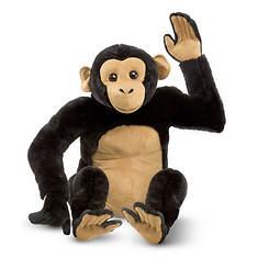 Melissa & Doug Chimpanzee Giant Stuffed Animal