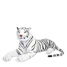 Melissa & Doug White Tiger Giant Stuffed Animal