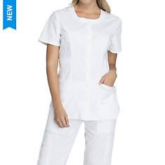 Cherokee Medical Uniforms Workwear Stretch Round Neck Top