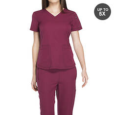 Dickies Medical Uniforms Dynamix-V-Neck Top