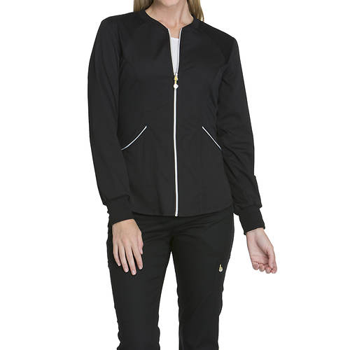 Cherokee Medical Uniforms LUXE SPORT Zip Warm-Up Jacket