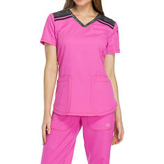 Dickies Medical Uniforms Dynamix-Melange V-Neck Top