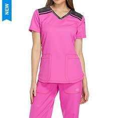 Dickies Medical Uniforms Dynamix-Melange V-Neck Top