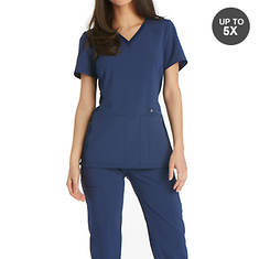 Cherokee Medical Uniforms iflex-V-Neck Knit Panel Top