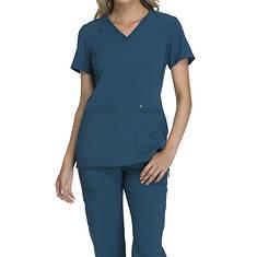 Cherokee Medical Uniforms iflex-V-Neck Knit Panel Top