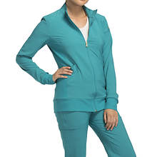 Cherokee Medical Uniforms iflex Zip-Front Warm-Up Jacket