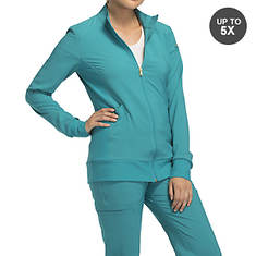 Cherokee Medical Uniforms iflex-Zip Front Warm-Up Jacket