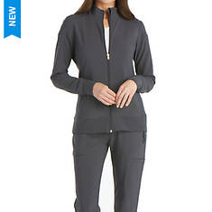 Cherokee Medical Uniforms iflex-Zip Front Warm-Up Jacket