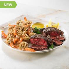 Valentines Dinner for Two - Steak & Shrimp