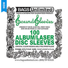 100-Count Loose Resealable Poly Sleeves