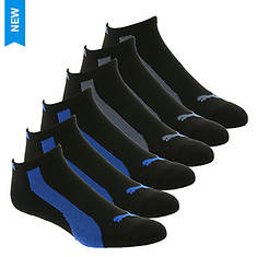 PUMA Men's P110165 Low Cut 6 Pack Socks