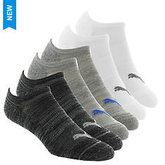 PUMA Men's P101568 No Show 6 Pack Socks