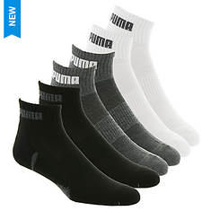 PUMA Men's P108729 Quarter 6 Pack Socks