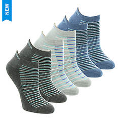 d135c07f945e Skechers Women s S108233 Low Cut 6 Pack Socks