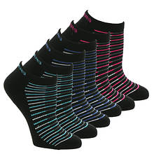 Skechers Women's S108233 Low Cut 6 Pack Socks