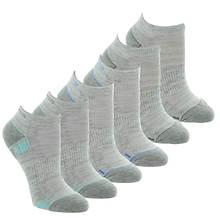 Skechers Women's S110381 Low Cut 6 Pack Socks