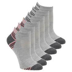 Skechers Women's S110380 Low Cut 6 Pack Socks