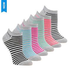 Skechers Women's S108235 Low Cut 6 Pack Socks