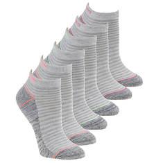 Skechers Women's S110382 Low Cut 6 Pack Socks