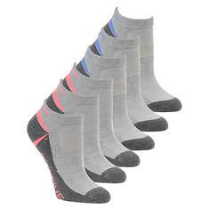 Skechers Women's S110383 Low Cut 6 Pack Socks