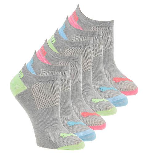 Puma Women's P107004 No Show 6 Pack Socks